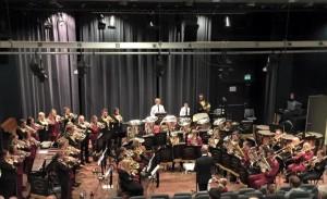 Konsert med Langeland skulekorps på Stord